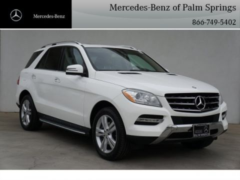 Certified Pre-Owned 2015 Mercedes-Benz ML 350 SUV AWD 4MATIC®