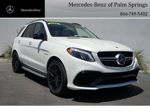 New 2017 Mercedes-Benz 63 AMG® SUV SUV AWD 4MATIC®