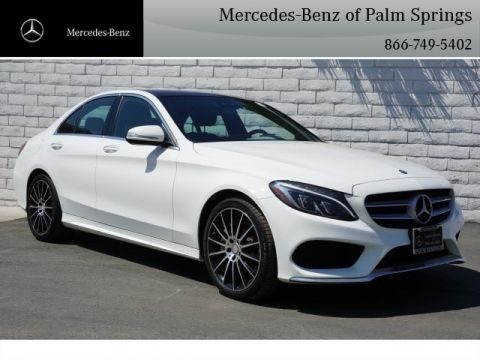 Certified Pre-Owned 2015 Mercedes-Benz C 300 Sport SEDAN AWD 4MATIC®