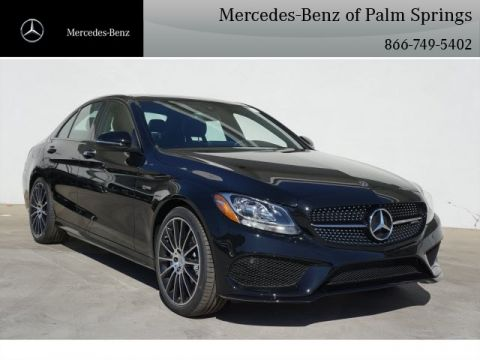 New 2018 Mercedes-Benz C 43 AMG® Sedan SEDAN AWD 4MATIC®