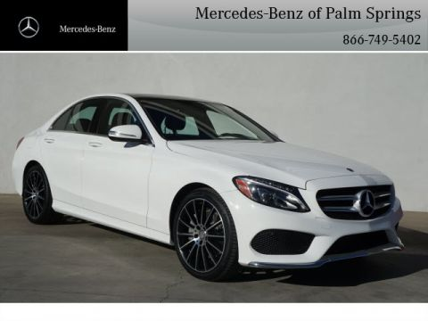 Certified Pre-Owned 2015 Mercedes-Benz C 400 4MATIC® Sedan AWD 4MATIC®