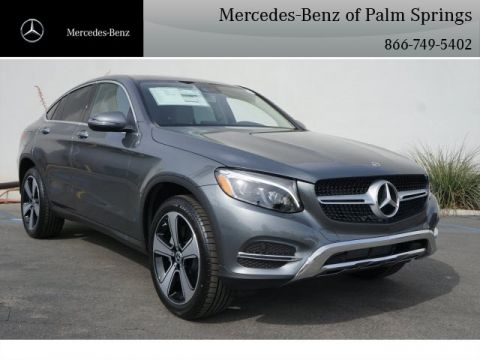 New 2018 Mercedes-Benz GLC 300 COUPE AWD 4MATIC®