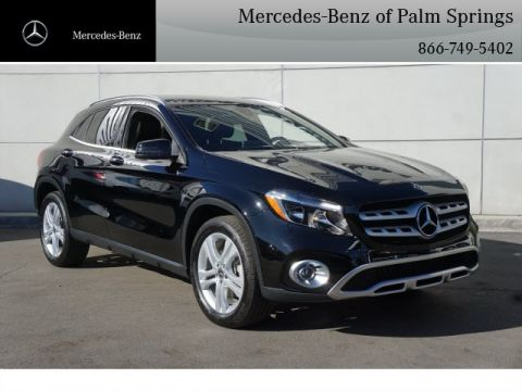 New 2018 Mercedes-Benz GLA 250 SUV AWD 4MATIC®