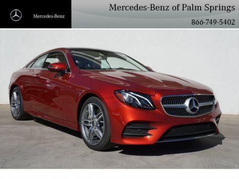 New 2018 Mercedes-Benz E 400 Sport COUPE