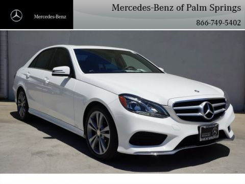 Certified Pre-Owned 2015 Mercedes-Benz E 350 Sport SEDAN