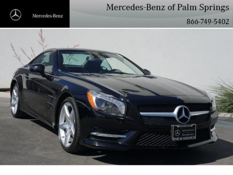 Certified Pre-Owned 2014 Mercedes-Benz SL 550 COUP/RDST