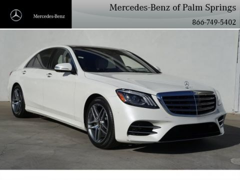 New 2018 Mercedes-Benz S 450 Sedan AWD AWD 4MATIC®