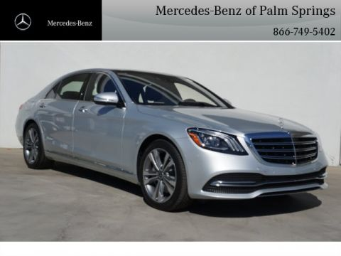 New 2018 Mercedes-Benz S 450 SEDAN AWD 4MATIC®