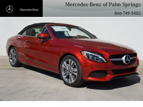 New 2018 Mercedes-Benz C 300 CABRIOLET