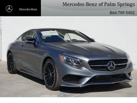 New 2017 Mercedes-Benz S 550 COUPE AWD 4MATIC®