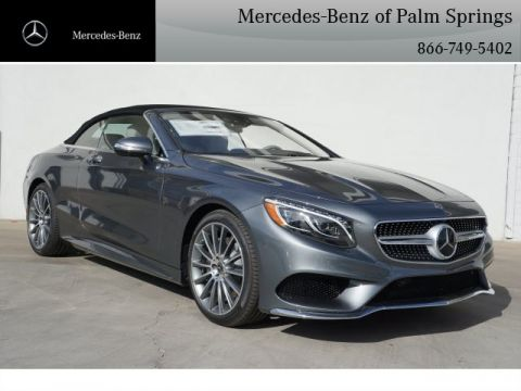 New 2017 Mercedes-Benz S 550 Convertible RWD