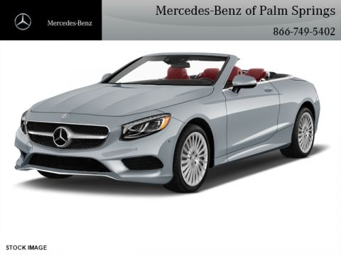 New 2017 Mercedes-Benz S 550 Sport CABRIOLET