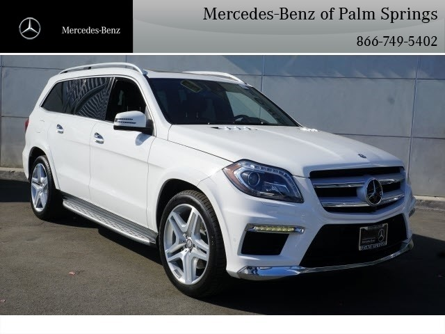 Certified Pre Owned 2016 Mercedes Benz Gl 550 Suv Awd 4matic