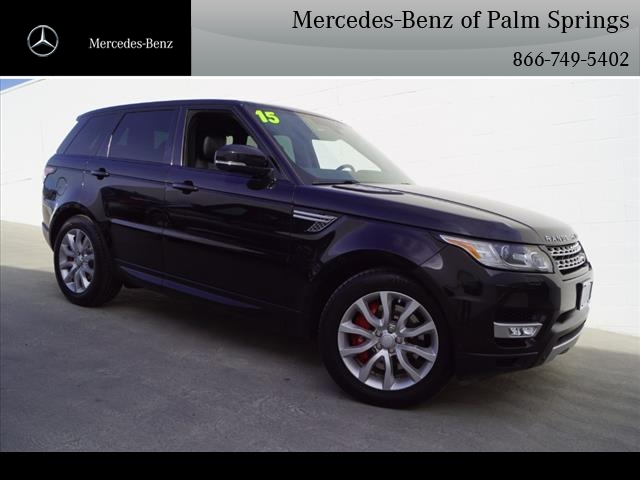 Pre-Owned 2015 Land Rover Range Rover Sport 5.0 Supercharged