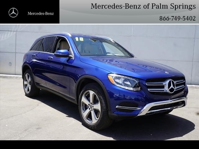 New 2018 mercedes benz glc glc 300 suv in palm springs for Mercedes benz extended warranty price