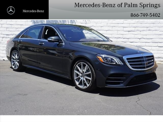 New 2018 Mercedes Benz S Class S 560 Sedan In Palm Springs M13054