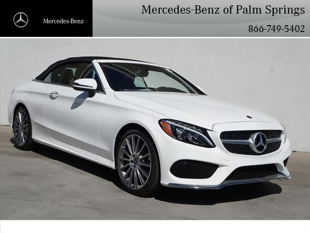 Hedendaags New 2018 Mercedes-Benz C-Class C 300 Sport CABRIOLET in Palm KO-17