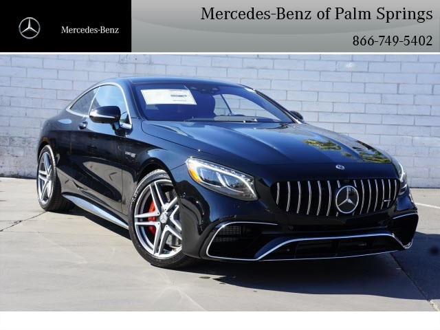 New 2019 Mercedes Benz S Class Amg S 63 Coupe Coupe In Palm Springs