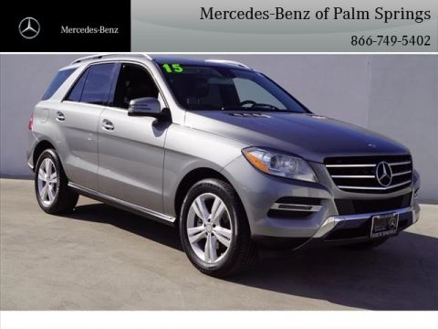 Certified Pre-Owned 2015 Mercedes-Benz M-Class ML 350 SUV