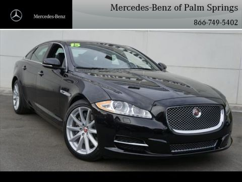 Pre-Owned 2015 Jaguar XJL XJL Portfolio Sedan With Navigation
