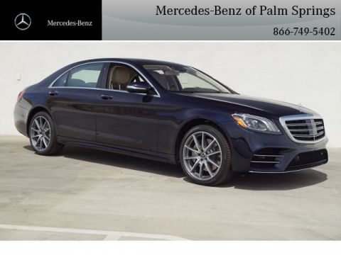 New 2020 Mercedes-Benz S-Class S 560 SEDAN With Navigation