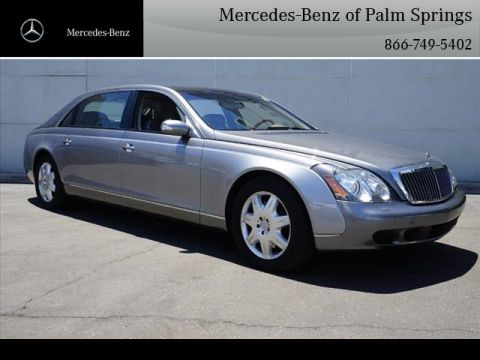 Pre-Owned 2004 Maybach 62 Base Sedan With Navigation
