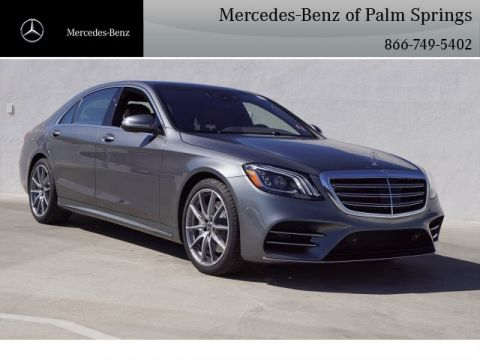 New 2020 Mercedes-Benz S-Class S 450 SEDAN With Navigation
