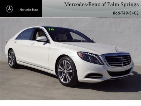Certified Pre-Owned 2016 Mercedes-Benz S-Class S 550 SEDAN