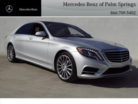 Certified Pre-Owned 2016 Mercedes-Benz S-Class S 550 Sport SEDAN