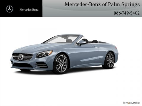 New 2019 Mercedes-Benz S-Class S 560 CABRIOLET With Navigation