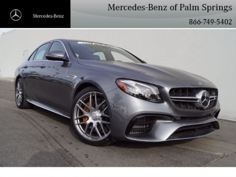 2019 Mercedes-Benz E-Class AMG® E 63 S Sedan